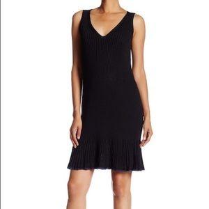 Rag and Bone Yasmine Black Sweater Dress